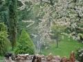 Springbrunnen im Gelände