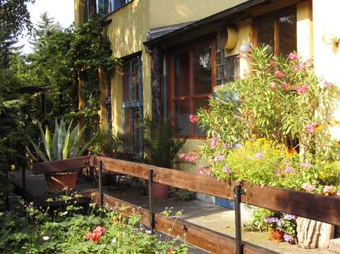 Terrasse Haus Friedland