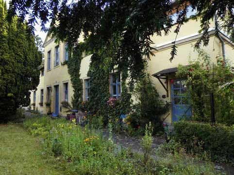 Vorderansicht Haus Friedland